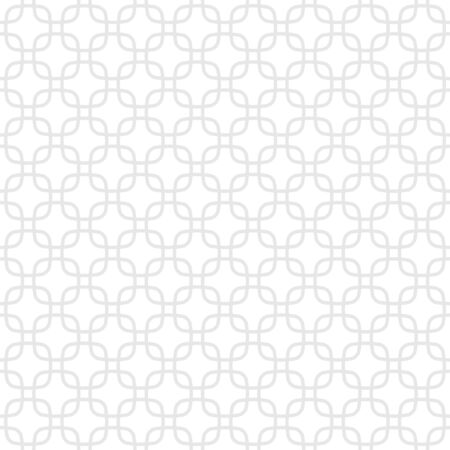 Seamless background made of geometric repeated light gray elements placed on white