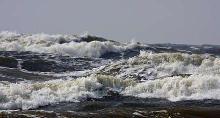swells: Storm on the Baltic sea