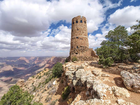 rim: The Grand Canyon. Views of the canyon, the landscape and nature.