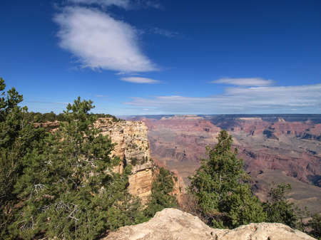 The Grand Canyon. Views of the canyon, the landscape and nature.