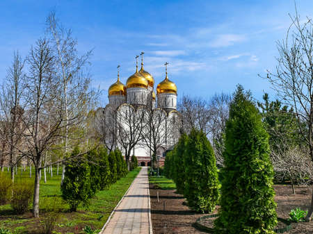 Monastery of the Holy Dormition, appearance of the monastery and the area near it.