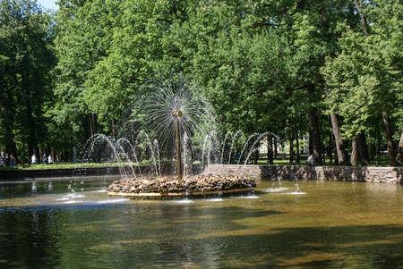 Fountains. Stock Photo