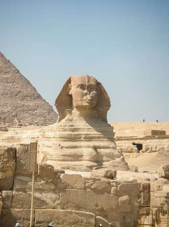 Architectural heritage of the ancient Egyptian civilization. Great Sphinx