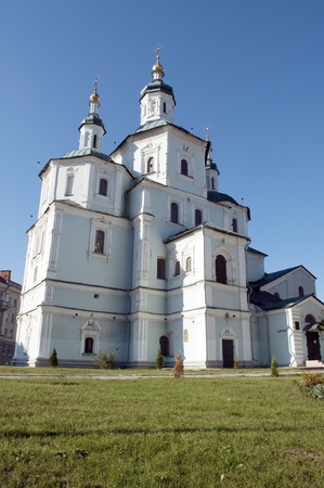 Ukrainian Cathedral Church in city of Sumy photo