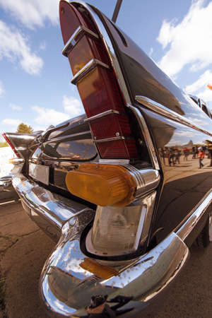 collectible: Fragment retro car rear lights