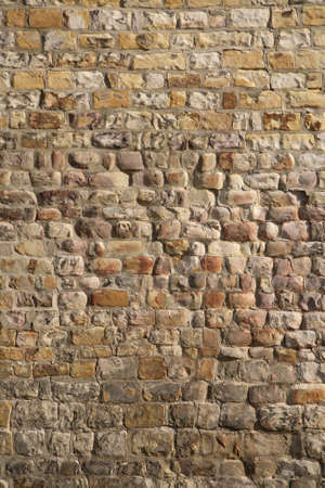 Old Stone Wall Background of a medieval church