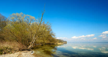 Untouched Nature by Lake Muritz, Germany Stock Photo