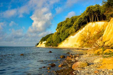 Ruegen Island, the Chalk Cliffs, Baltic Sea, Germany