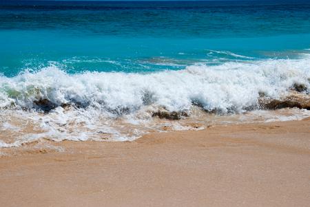 dreamland: The waves at Dreamland beach. The Bukit Peninsula, Bali, Indonesia.