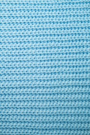 woolen cloth: The texture of blue woolen cloth