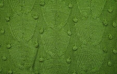 Texture woolen fabric