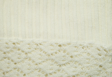 interweaving: Soft texture of woolen fabric