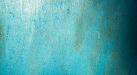 rusty metal texture: metal surface painted in blue color