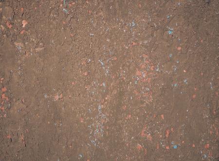 peeling paint: metal surface with peeling paint