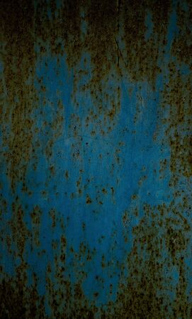 blue metal: metal surface painted in blue color