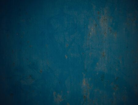 metal surface: metal surface painted in blue color