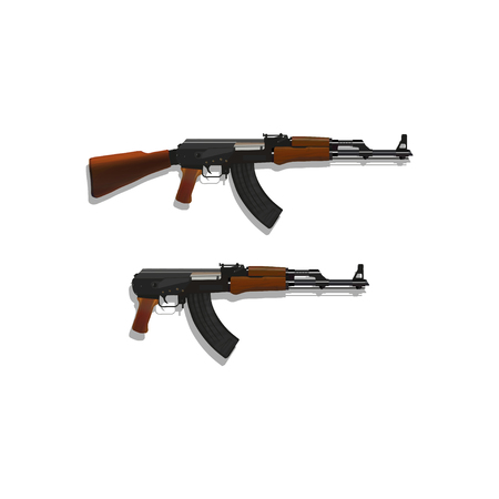 Ak 47 Cliparts, Stock Vector And Royalty Free Ak 47 Illustrations