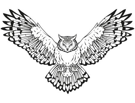 owl logo Stock Vector - 96805452
