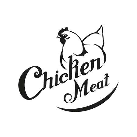 Chicken Meat Logo Meat Foodicken Farming Products Fresh