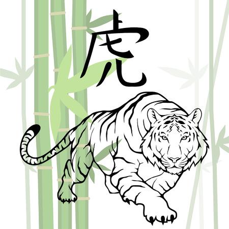 Chinese Tiger. (Chinese Translation: Tiger)