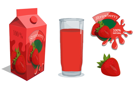 Fresh Juice logo. Healthy drink. Juice is a nutritious liquid. Ecologically pure natural juice. Иллюстрация
