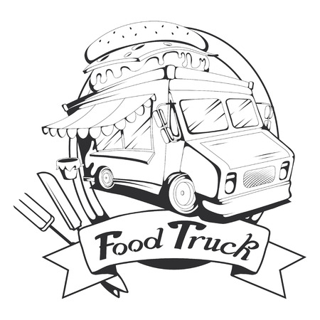 food truck graphic to design