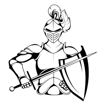 Knit mascot for men mascot