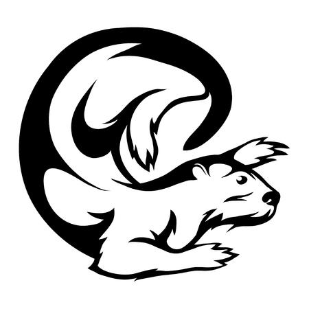 otter graphic to design Çizim
