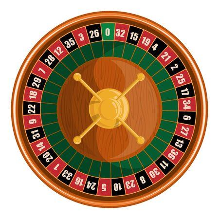 European roulette. Red & Black Betting casino squares. Winning money. Losing at gambling. Classic casino roulette. Gambling European Roulette banner. Decorative casino element. Casino roulette.