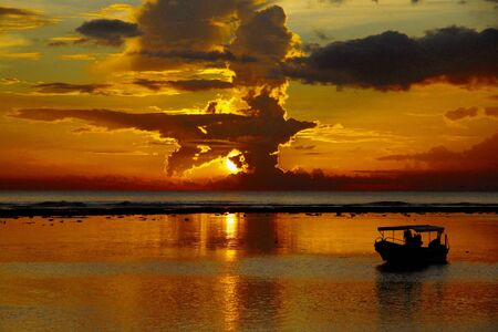 sanur: Sanur Beach Bali, Indonesia Stock Photo