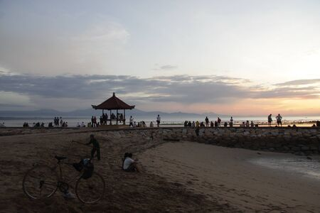 sanur: Waiting for Sunrise, Sanur Beach, Bali, Indonesia
