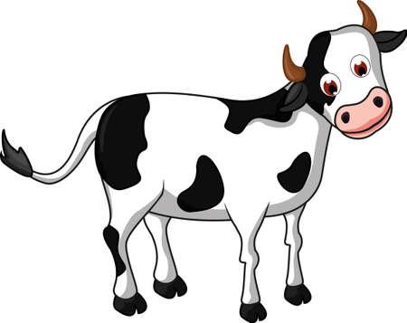 udders: cow cartoon for you design Illustration