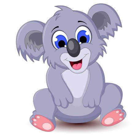 Leuke koala cartoon