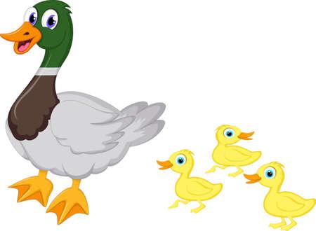 アヒル家族漫画