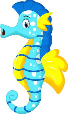 Seahorse cartoon For you design