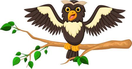 desing: owl cartoon for you desing
