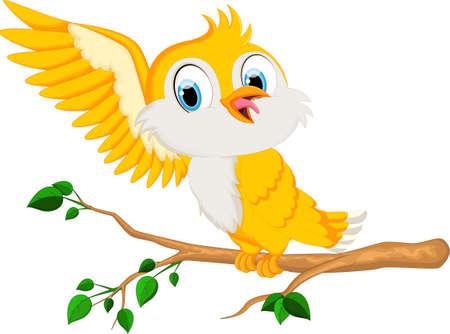 yelow: yelow bird will land