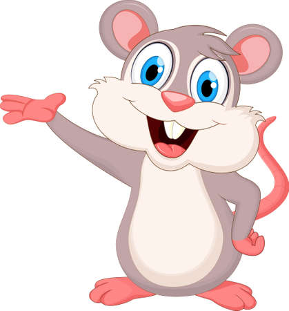 funny mouse cartoon for you design
