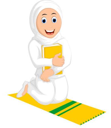 mujeres orando: Mujeres musulmanas rezando