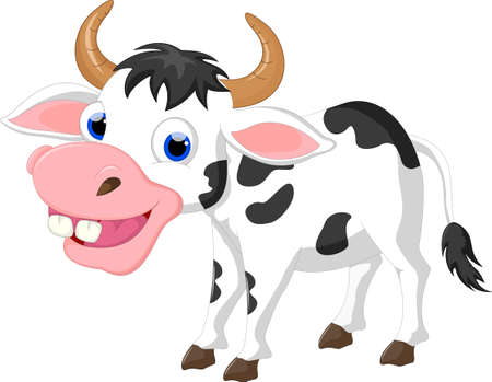 udders: Funny Cow cartoon