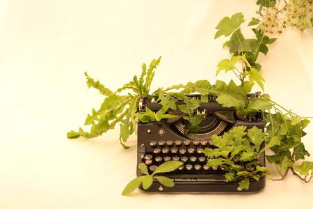 overtaken: Typewriter