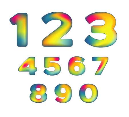 mesh numbers Vector