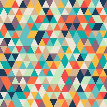 multicolour: Seamless Abstract Colorful background with triangle pattern