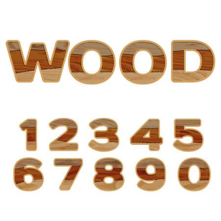 bred: N�meros de madera