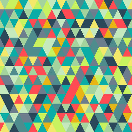 luminosity: Seamless Abstract Colorful background with triangle pattern