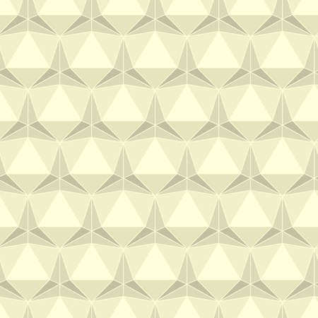 icosahedron: Seamless abstract light background made of geometric pattern
