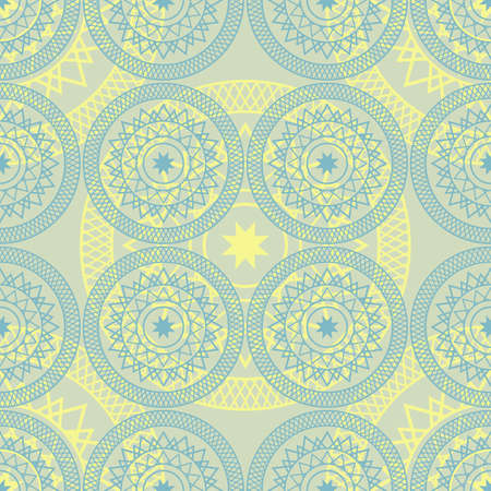 arabic background: Seamless colorful background made of Arabic pattern