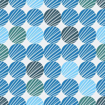 to drown: Fondo colorido incons�til hecho de c�rculos con el patr�n de la mano se ahoga Vectores