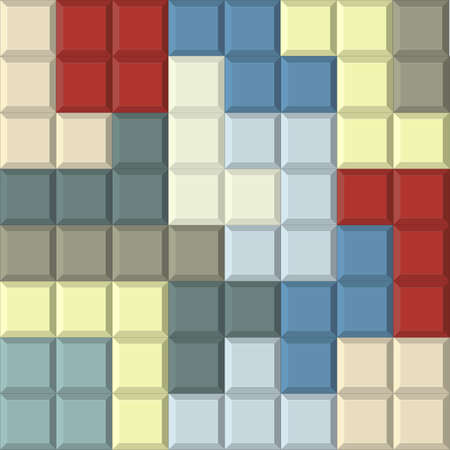 tetris: Seamless colorful background with tetris shapes