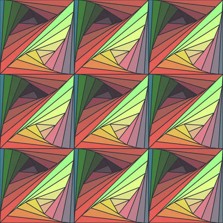 tangle: Abstract seamless colorful background with Tangle pattern